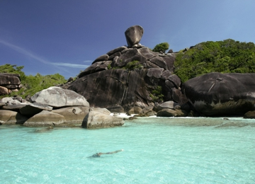 Donald Duck Bay in Similan Islands